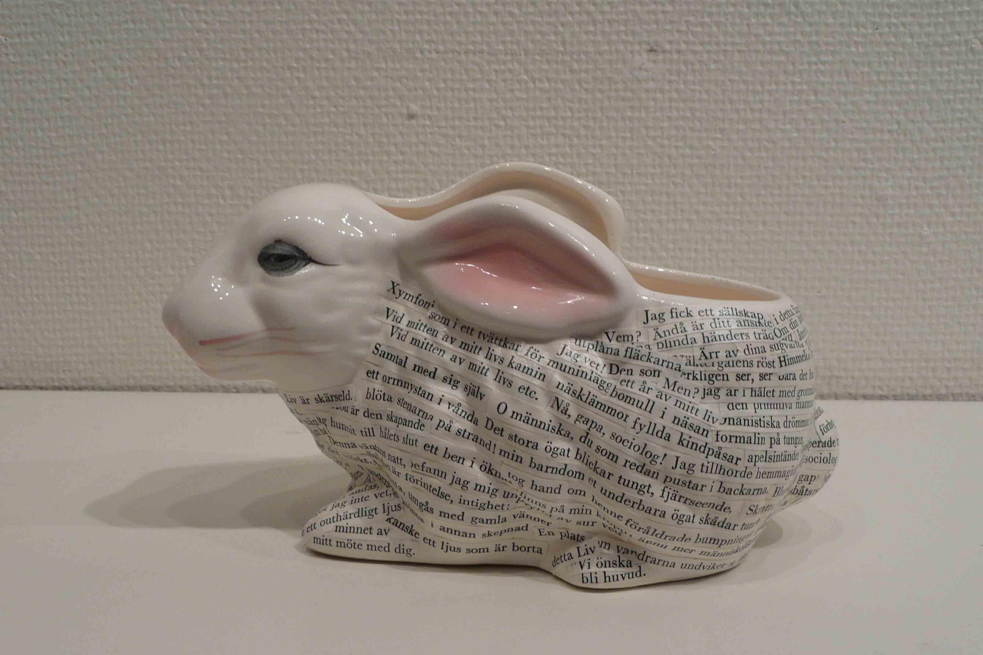 den gamla vanliga kaninen